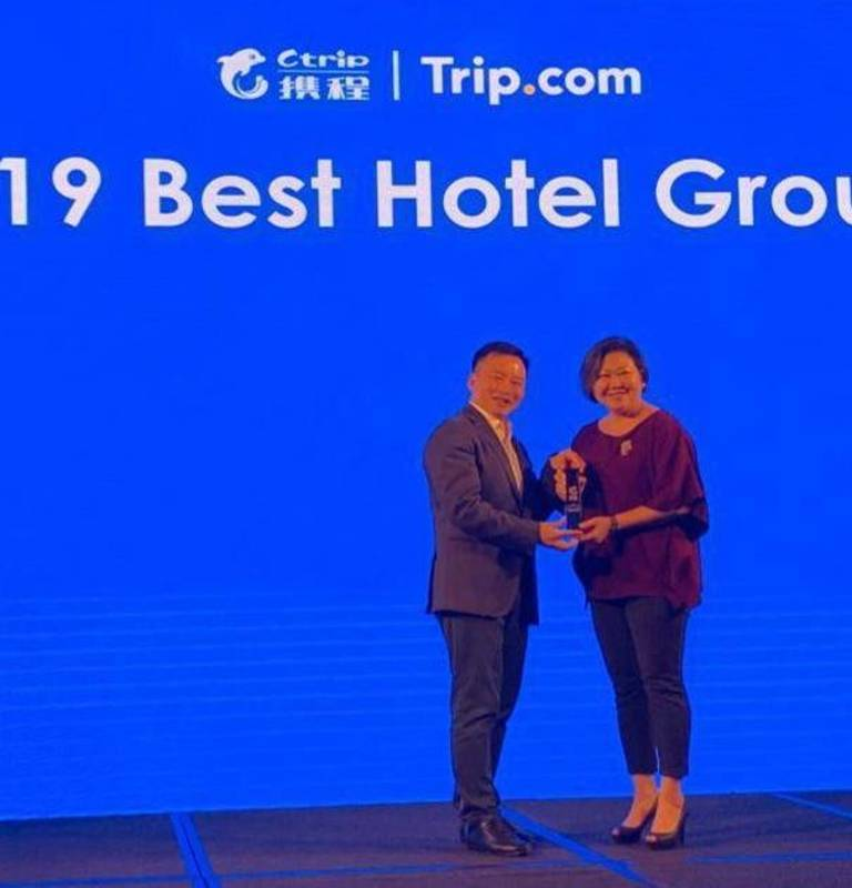 CTrip.com 2019 Best Hotel Group